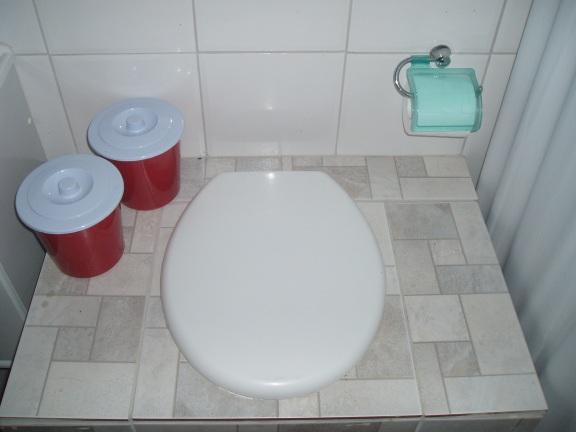Por dentro, o bason se parece com um banheiro comum.