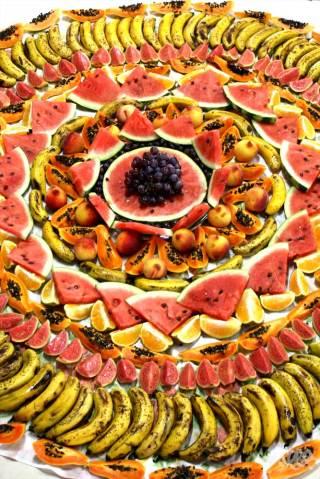 mandala frutas