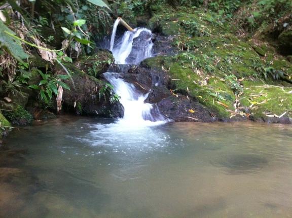 O Rio Amor fluindo tranquilo...
